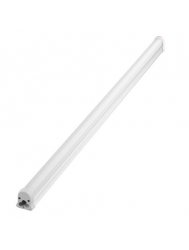 Luminiz - 4 Watt - 1 Foot Long - LED T5 Tube - Black Body - 6500K Cold White / Daylight - Frost Lens - 120V - 3-Wire Hardware Connector Included